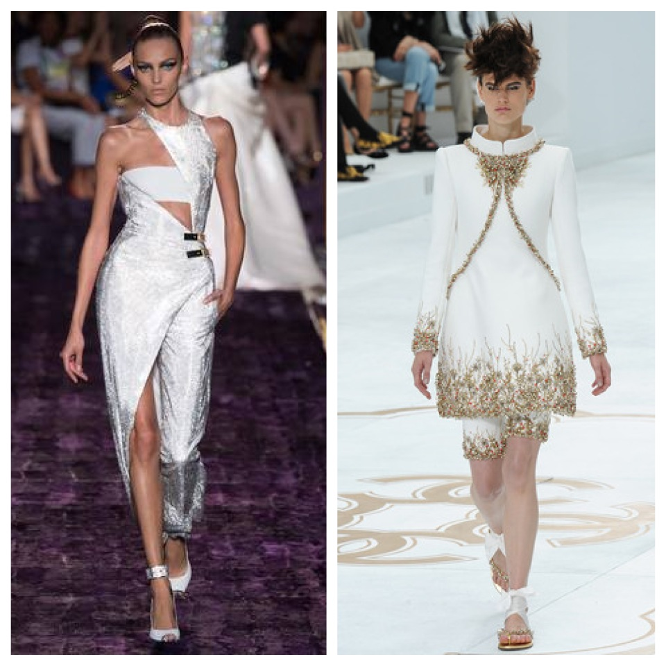 Versace and Chanel 2014-2015