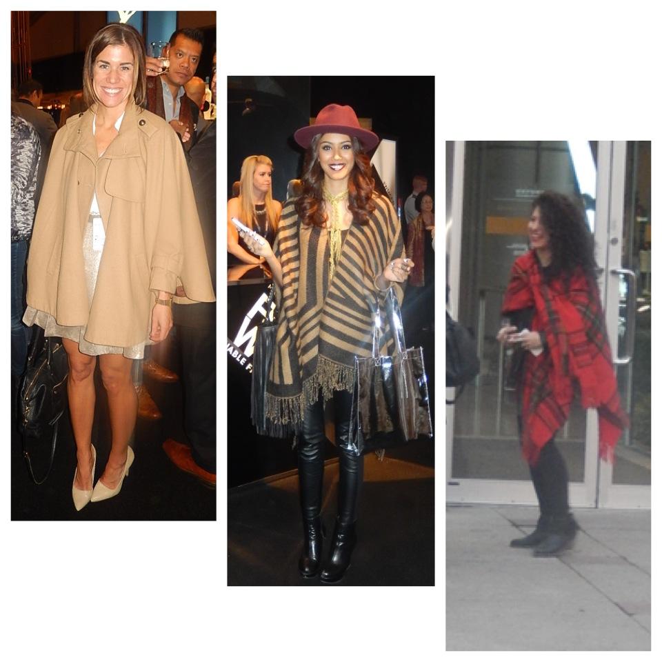 street style trend poncho
