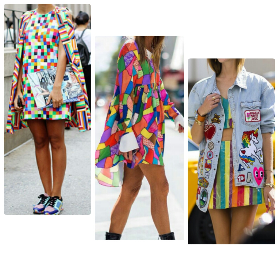 colorful prints graphics trend