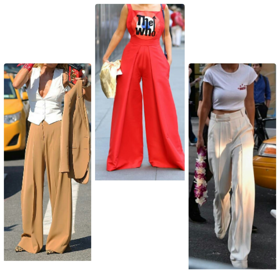 High waisted wide leg pants cullotes