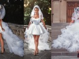 Wedding dress design louboutin