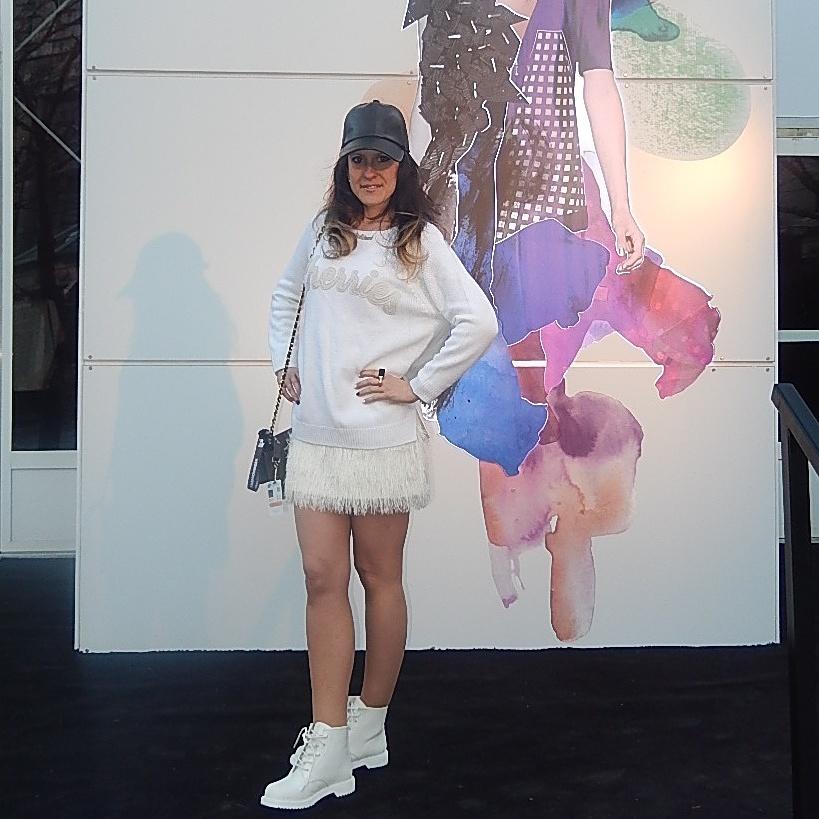 white booties shoes WMCFW TORONTO