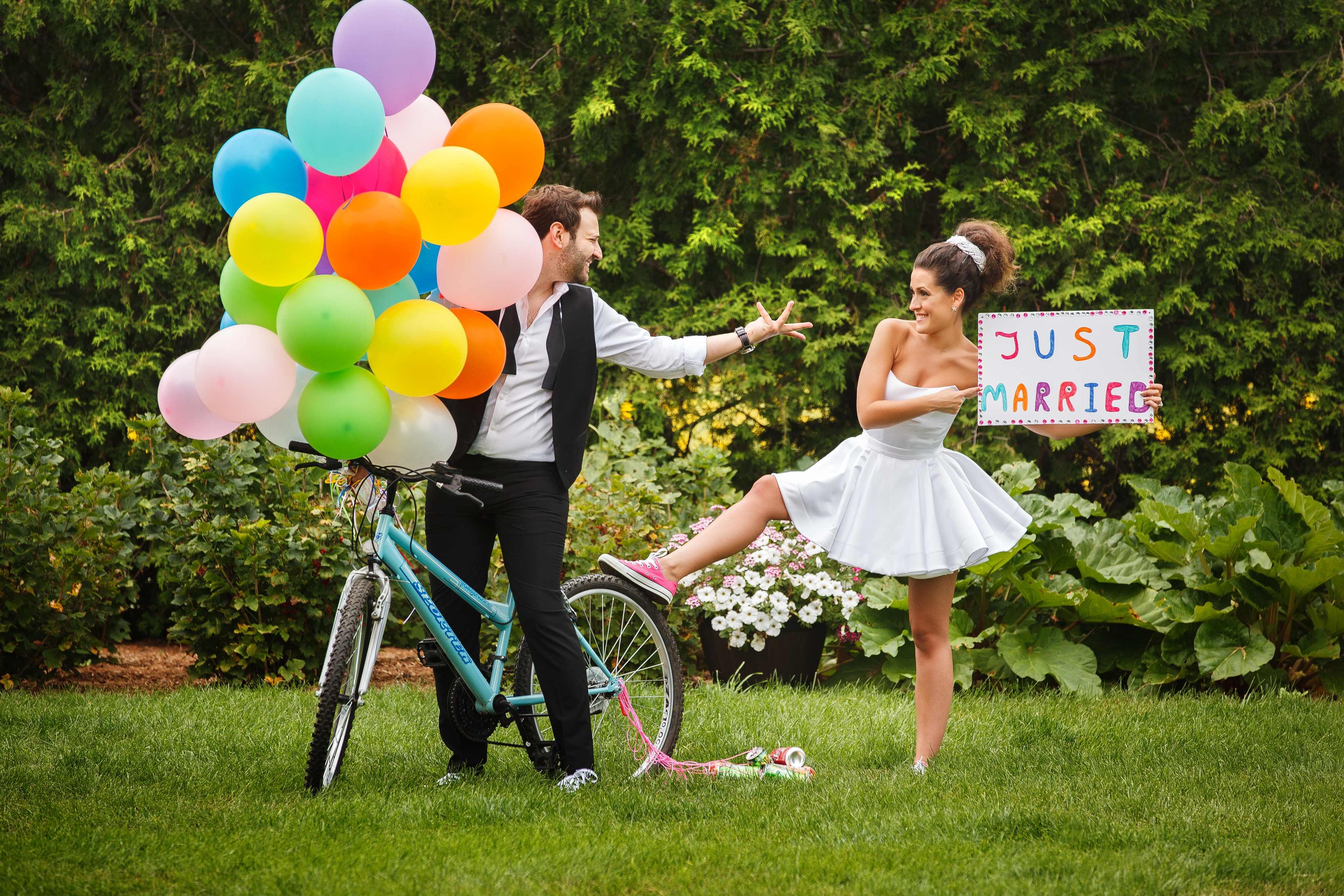 wedding creative funny photo shoot ideas